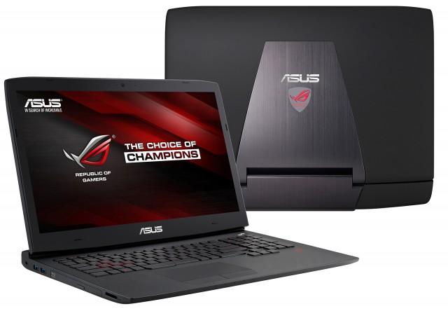 ASUS анонсувала серію ігрових ноутбуків ROG G751