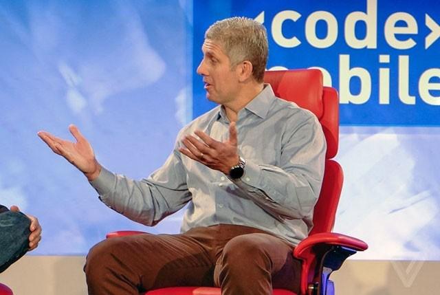 Президент Motorola Рік Остерло (Rick Osterloh)