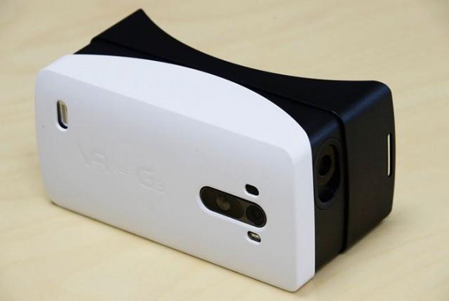LG випустила пластикову версію картонного шолома Google VR для G3