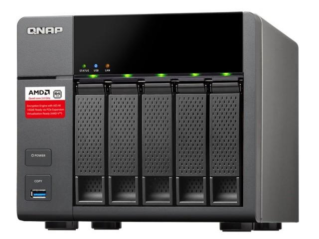 QNAP TS-563: мережеве сховище з процесором AMD
