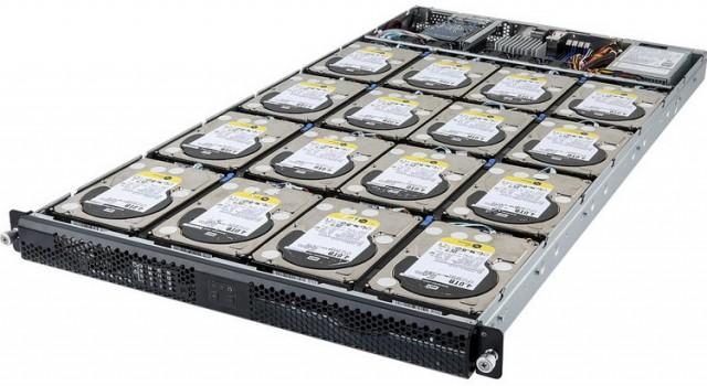 Система зберігання даних GIGABYTE D120-C20